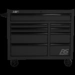 Black Roller Cabinet